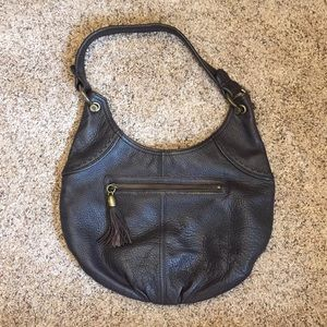 Brown leather purse from GAP